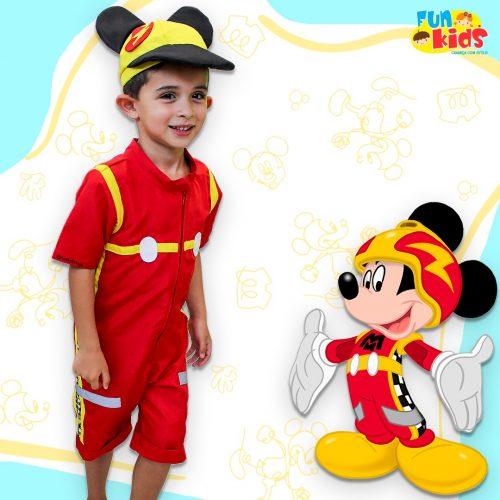 Fantasia Masculina Mickey Mouse