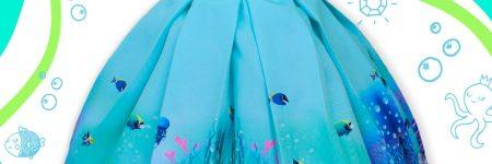 Vestido Fundo do Mar