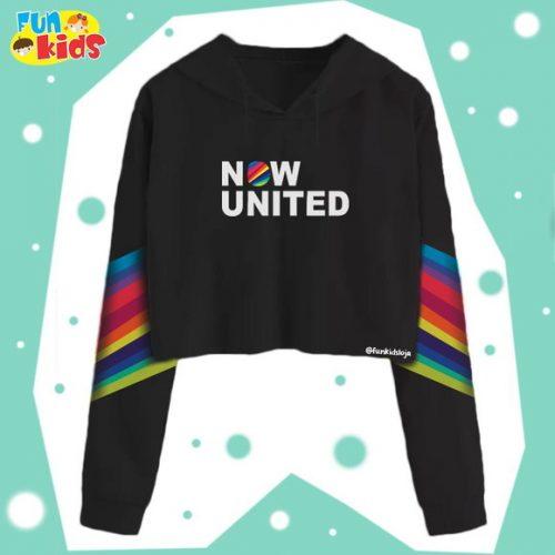 Blusa moleton Now United