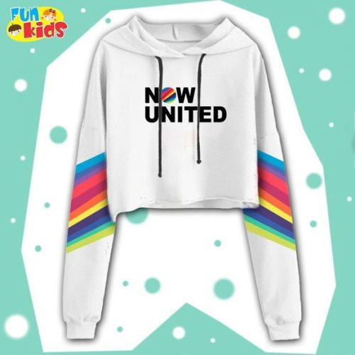 Blusa Moletom Now United