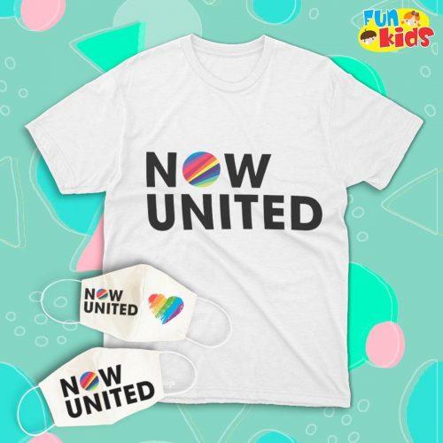 T-shirt Now United- Masculina