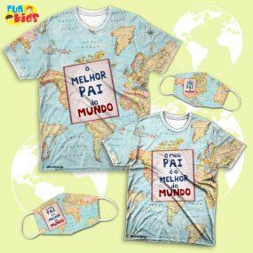 Kit Tal Pai ,Tal Filho – Melhor Pai  do Mundo