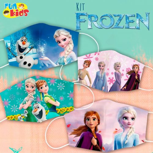Kit Máscara Frozen
