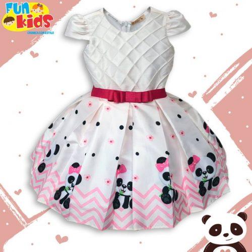 Vestido Festa Fashion Panda
