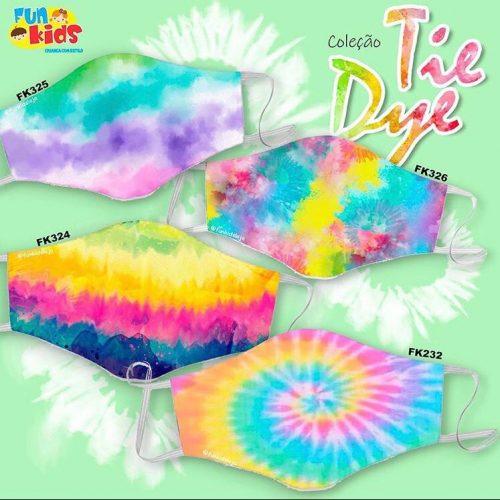 Máscaras Tie Dye